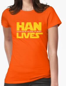 Han Lives - Type Only T-Shirt