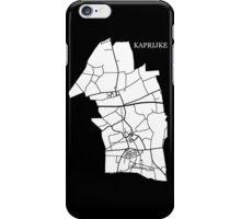 Kaprijke Wit iPhone Case/Skin