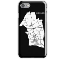 Kaprijke Wit iPhone Case/Skin