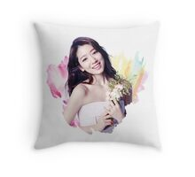 Park Shin Hye Throw Pillow