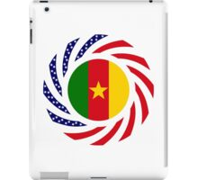 Cameroon American Multinational Patriot Flag Series 1.0 iPad Case/Skin
