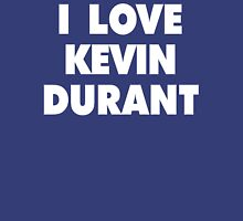 I LOVE KEVIN DURANT Oklahoma City Thunder Basketball Womens Fitted T-Shirt