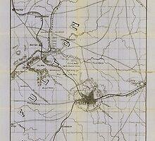 Civil War Maps 0059 Atlanta vicinity compiled from state map and information 02 by wetdryvac