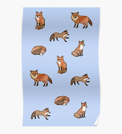 Foolish Foxes Poster