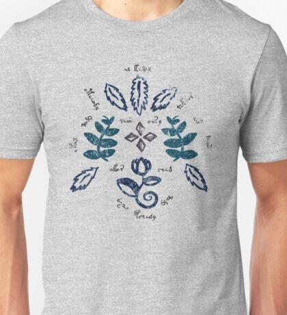 Voynich Pattern Unisex T-Shirt