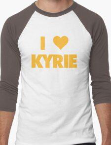 I LOVE KYRIE Irving Cleveland Cavaliers Basketball Men's Baseball ¾ T-Shirt