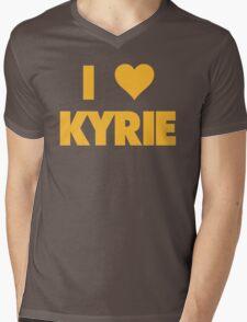 I LOVE KYRIE Irving Cleveland Cavaliers Basketball Mens V-Neck T-Shirt