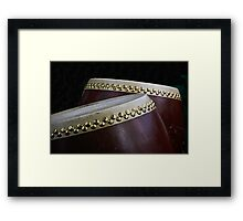 Two Taiko Drums  Framed Print