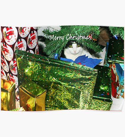 Meeow-y Christmas! Poster