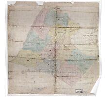 Civil War Maps 0592 Loudoun County Virginia Poster