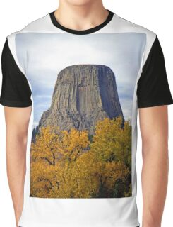 Devils Tower, Wyoming, USA Graphic T-Shirt