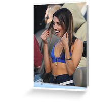 Aubrey Plaza - Color - 1 Greeting Card