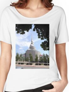 Temple of the Community of Christ, Independence, Missouri Women's Relaxed Fit T-Shirt