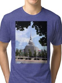 Temple of the Community of Christ, Independence, Missouri Tri-blend T-Shirt