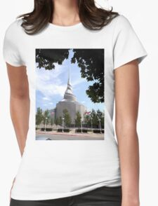 Temple of the Community of Christ, Independence, Missouri Womens Fitted T-Shirt