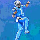 Cam Newton Dab #4 by Andrew Stewart