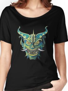 Oni Mask Evil Spirit Women's Relaxed Fit T-Shirt