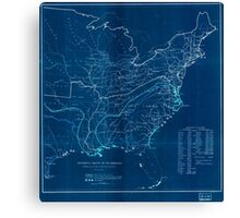 Civil War Maps 0495 Historical sketch of the rebellion Inverted Canvas Print