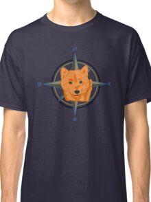Shiba Inu - Doge Compass Classic T-Shirt