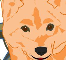 Shiba Inu - Doge Compass Sticker