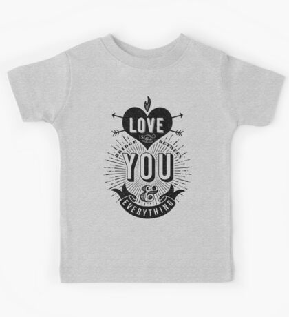 Love Is The Bridge Kids Tee
