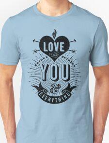 Love Is The Bridge Unisex T-Shirt