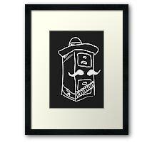 Cabinet Sanchez (White) Framed Print