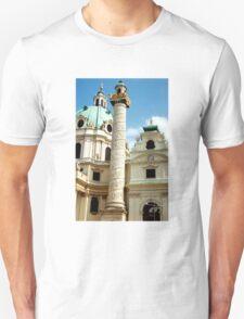 Karlskirche, Vienna, Austria (2) Unisex T-Shirt