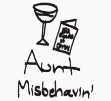 Aunt Misbehavin' Kids Clothes
