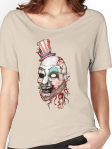 Captain Zombie Women's Relaxed Fit T-Shirt