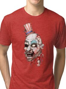 Captain Zombie Tri-blend T-Shirt