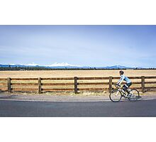 Distracted Ride Photographic Print