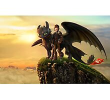 How to Train Your Dragon 5 Photographic Print