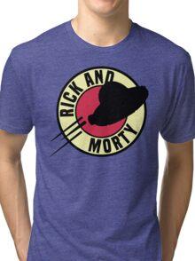 Rick and Morty Express Tri-blend T-Shirt
