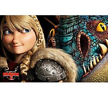 How to Train Your Dragon 8 Photographic Print