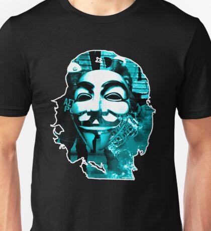 Anonymous Che Guevarra Blue Unisex T-Shirt