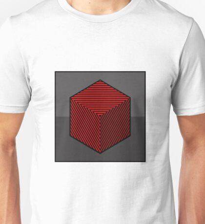 Op Art Box Unisex T-Shirt