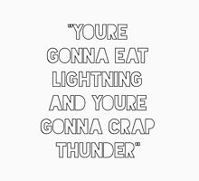 Eat lightning crap thunder Women's Tank Top