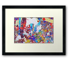 Wind through the trees Framed Print