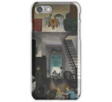 George Wesley Bellows  THE STUDIO iPhone Case/Skin