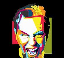 James Hetfield by graphictor