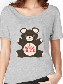 I Wuv Hugs Women's Relaxed Fit T-Shirt