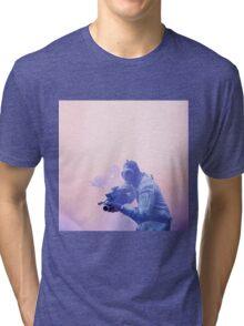 The 100 - Mountain Men (Purple Pink) Tri-blend T-Shirt