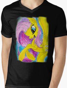Flutterbat Mens V-Neck T-Shirt