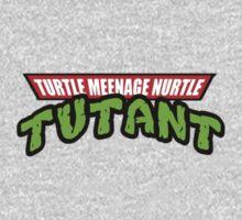 Turtle Meenage Nurtle Tutant Kids Tee
