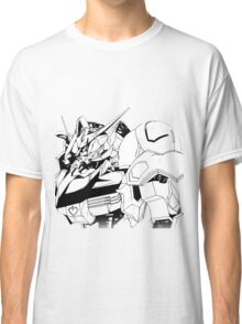 Gundam Barbatos Black and White Classic T-Shirt