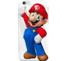 Cell Shaded Mario iPhone Case/Skin