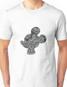 Mouse Zentangle Unisex T-Shirt