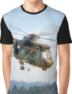 Sea King Helicopter Graphic T-Shirt