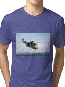 Sea King Helicopter Tri-blend T-Shirt
